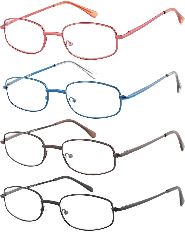 Set de cuatro gafas de lectura
