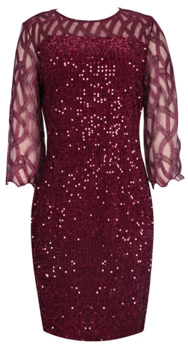 Vestido lentejuelas para mujer (Tallas S a 5XL)