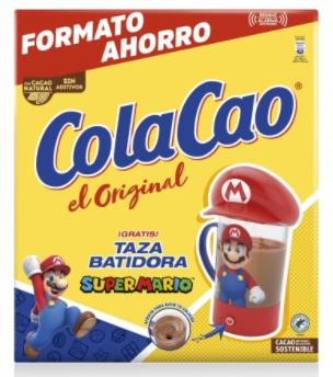 Colacao original 2,7kg + taza batidora