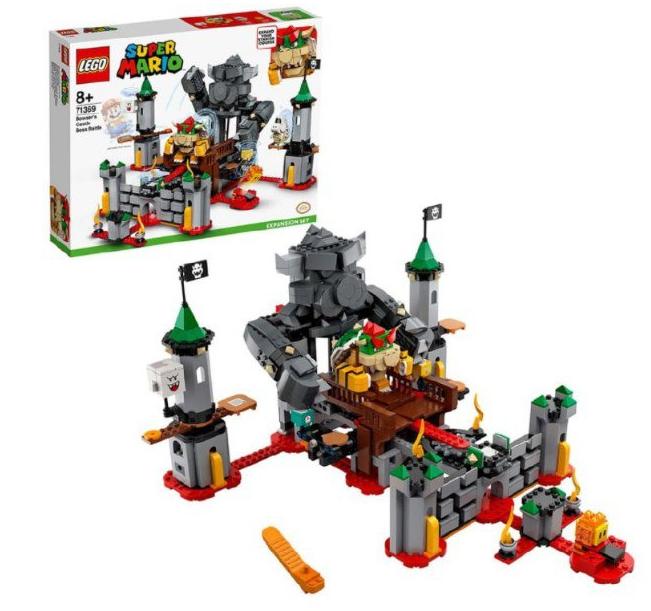LEGO Super Mario Batalla Final en el Castillo de Bowser
