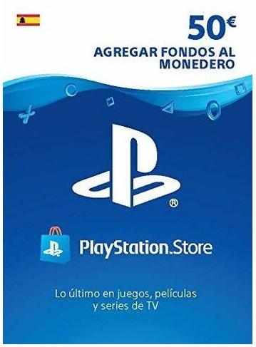 Tarjeta 50€ PlayStation (Saldo PSN)