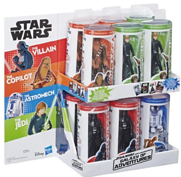 Figura de Star Wars Galaxy of Adventures