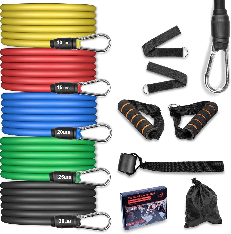 Set de Bandas de Resistencia Fitness
