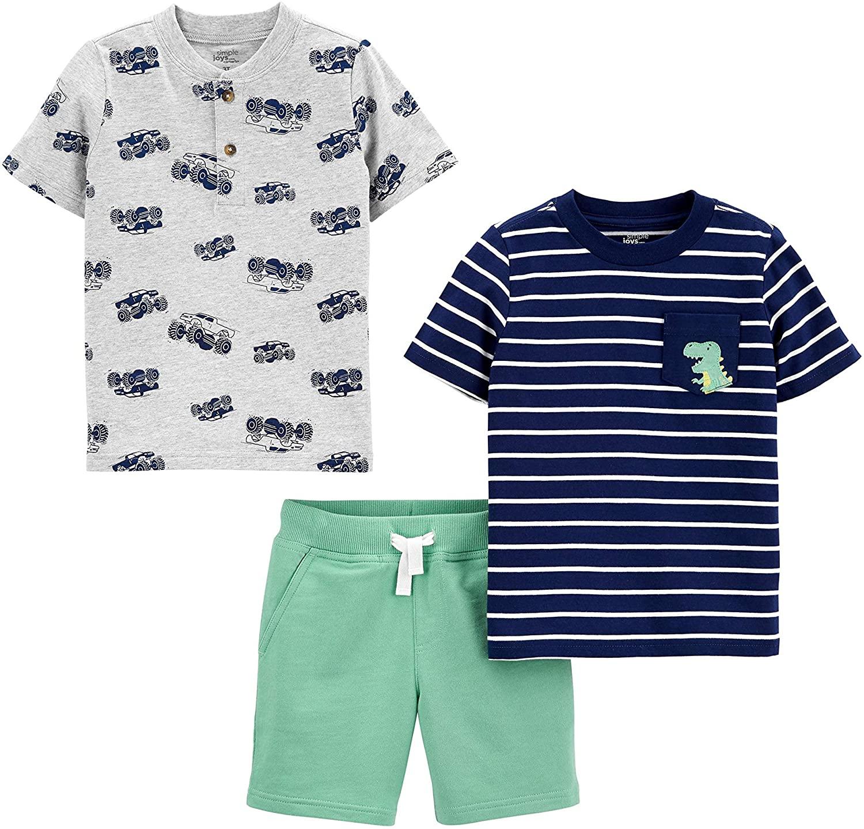 Conjunto 2 camisetas + pantalón para niños 1 año
