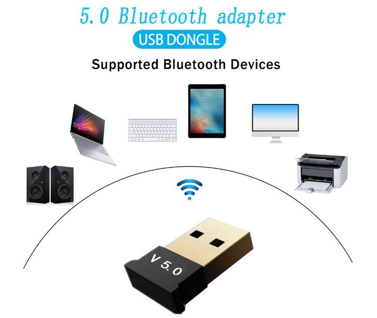 Adaptador bluetooth 5.0 USB