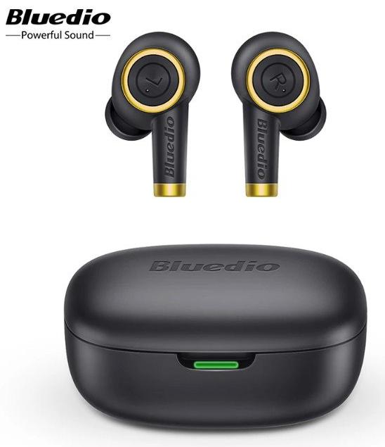 Auriculares Bluetooth 5.0 TWS Bluedio P