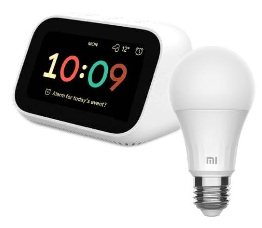 Bundle Xiaomi: Mi Smart Clock + Bombilla inteligente Xiaomi LED