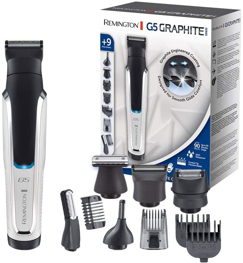 Recortadora de Barba y Cortapelos Remington G5 Graphite