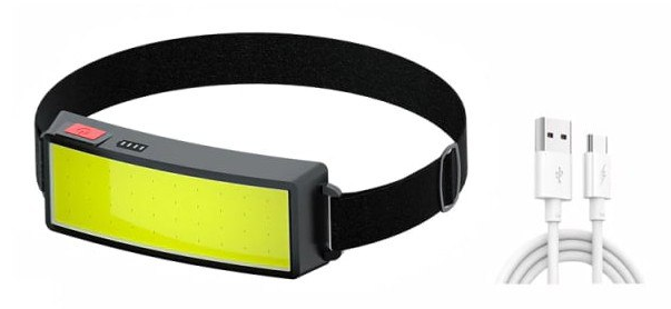 Linterna para la cabeza Shustar T-060 LED COB Recargable