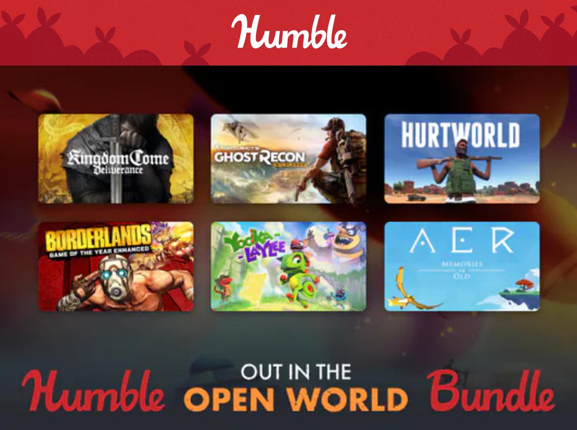 Humble Bundle juegos de mundo abierto
