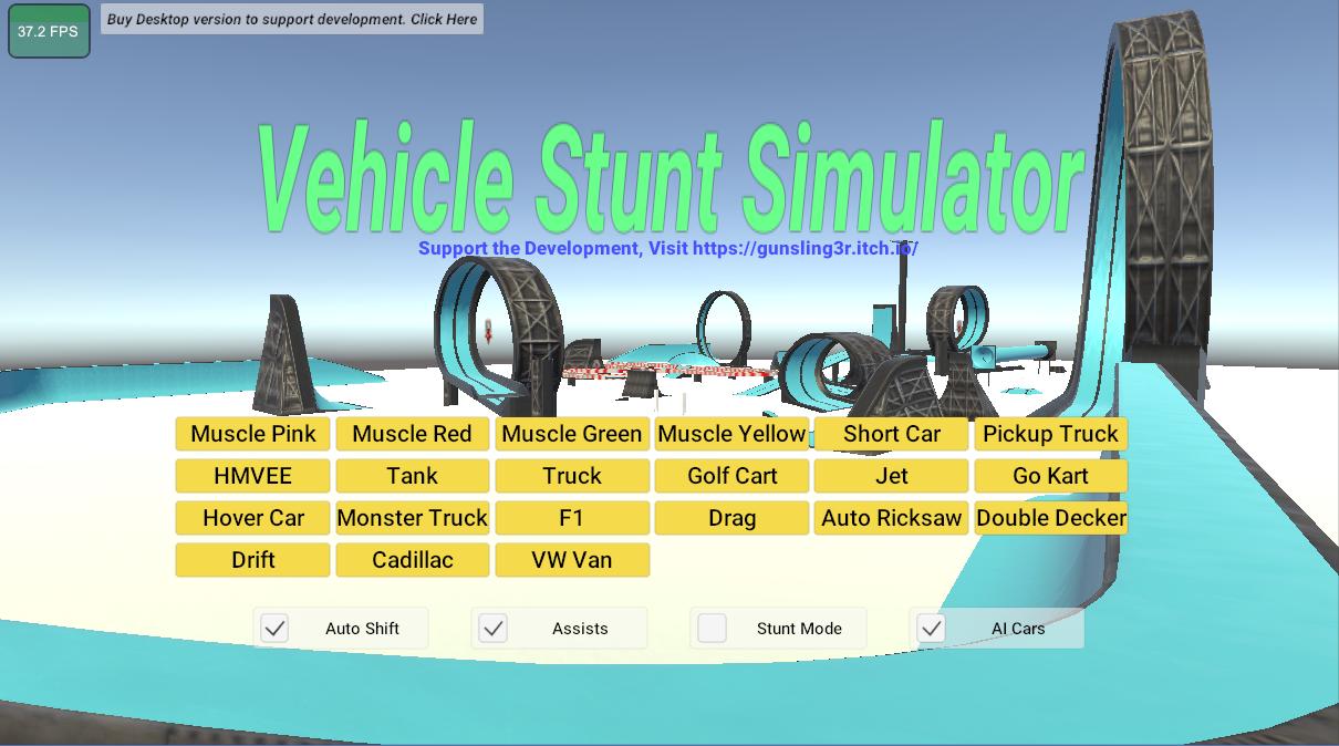 Vehicle Stunt Simulator