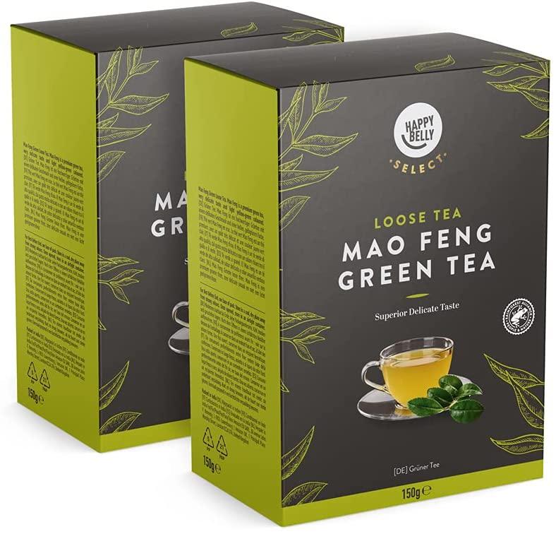 Pack 2 Hojas selectas de té verde Happy Belly Select