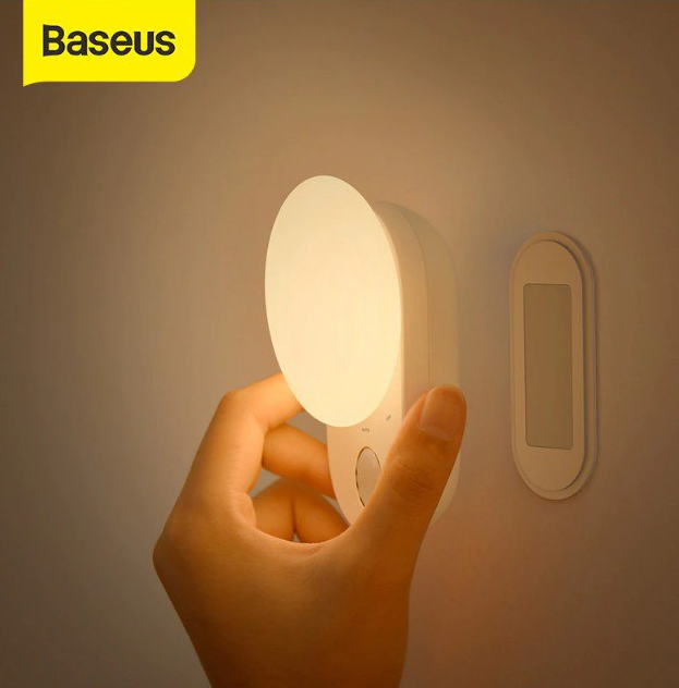 Luz nocturna LED con sensor de movimiento Baseus