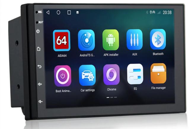 Radio para coche Android 2DIN