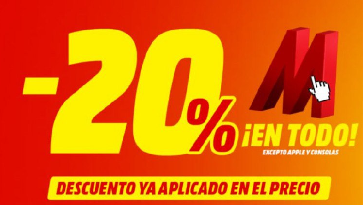 20% Descuento Extra MediaMarkt