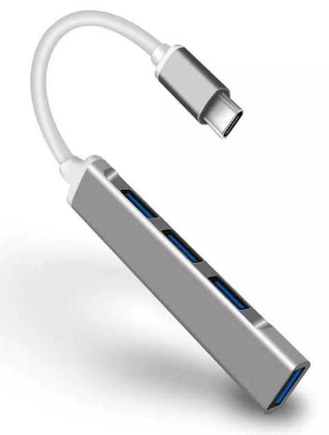 Hub USB 3.0 de 4 puertos