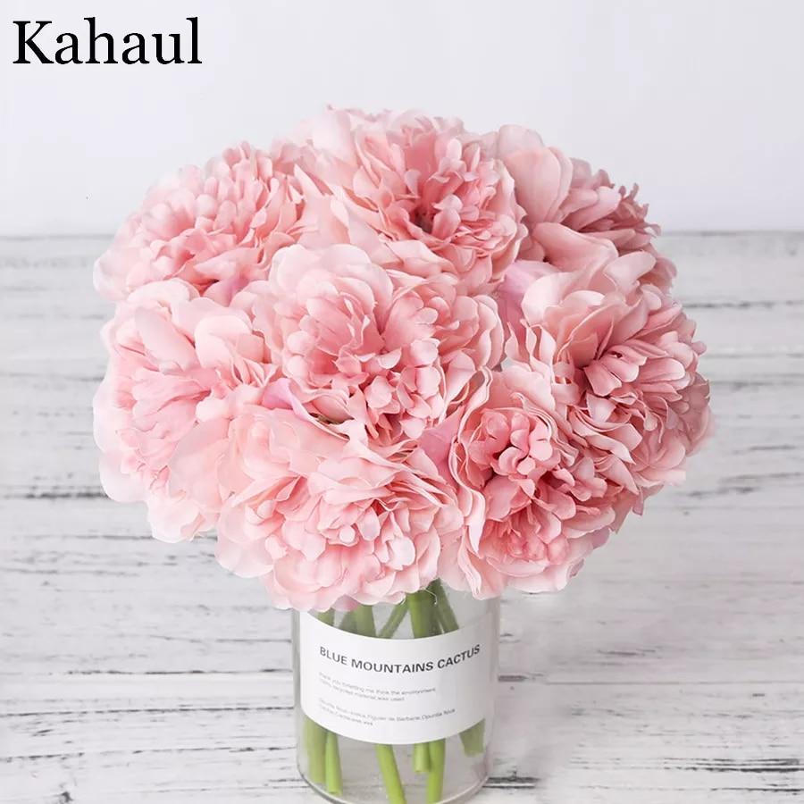 Flores artificiales de seda