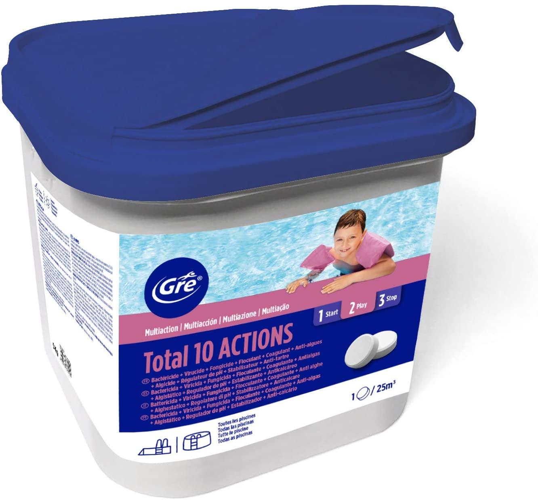 Pastillas multiacción para el tratamiento completo de la piscina 5kg