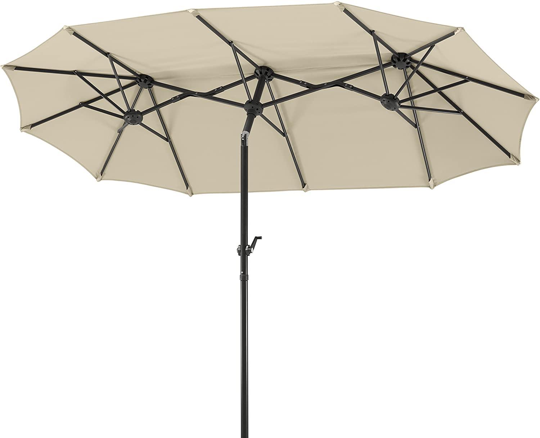 Schneider parasol rectangular 300x150cm