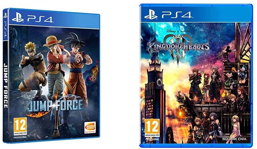 Jump Force Edicion Estandar + Square Enix Kingdom Hearts 3 PS4