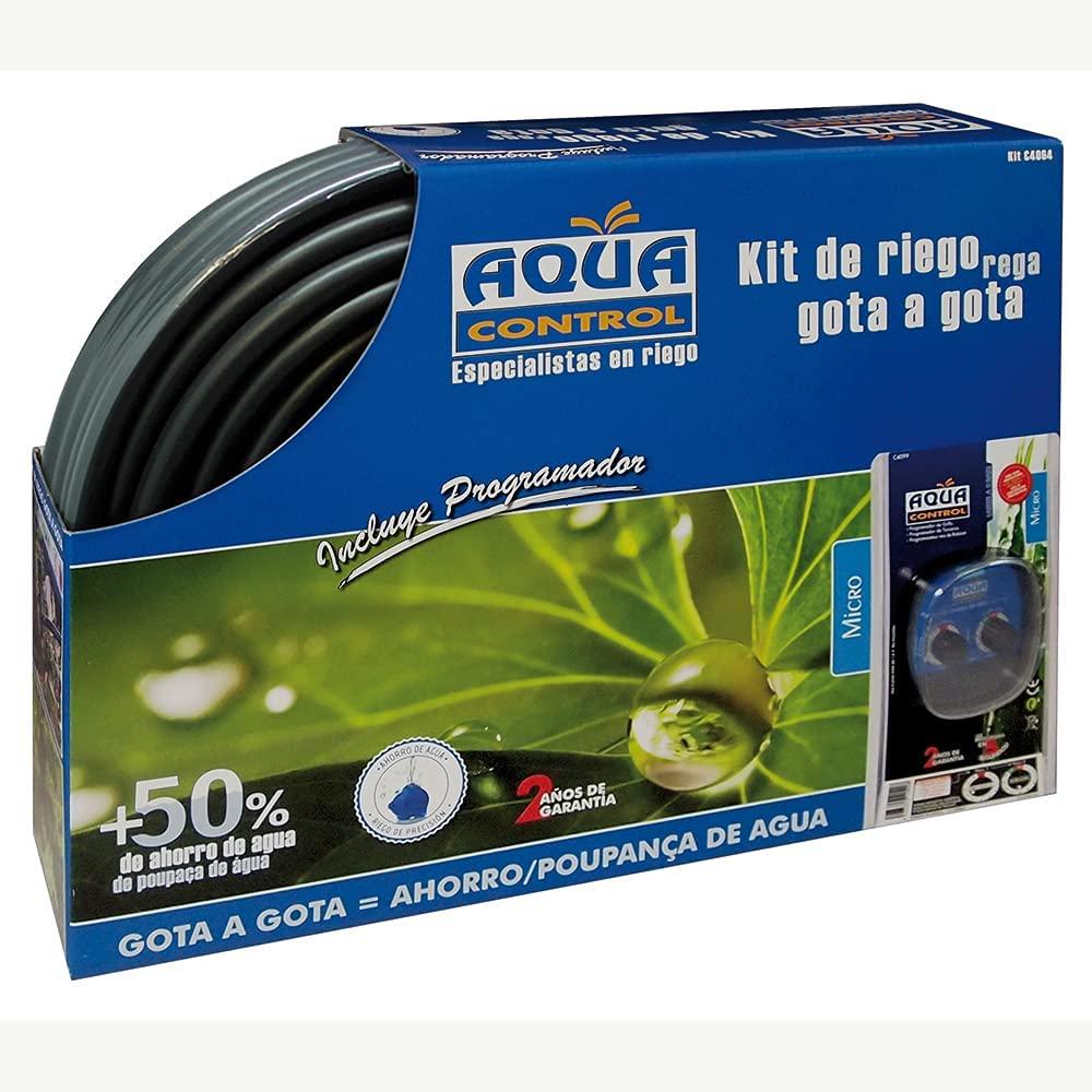 Control de riego por goteo para jardín