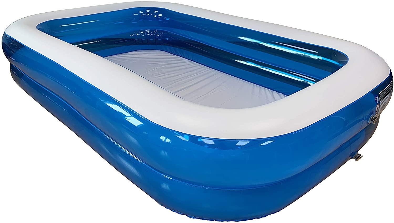 Piscina hinchable rectangular 660 litros