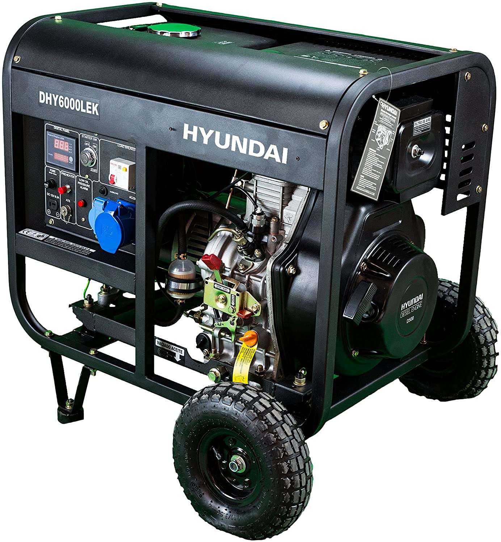 Hyundai Generador diesel de 14 litros