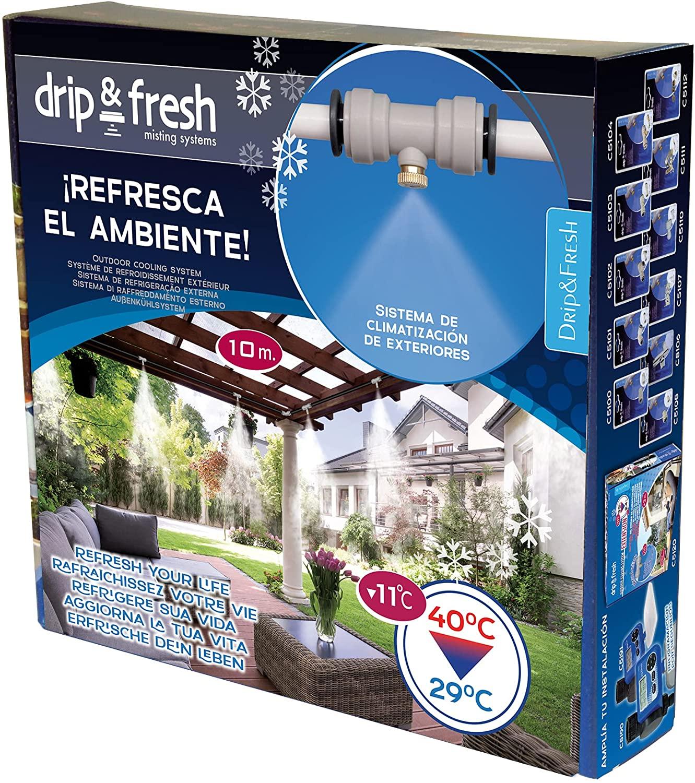 Kit de nebulización para climatizar tu patio o terraza