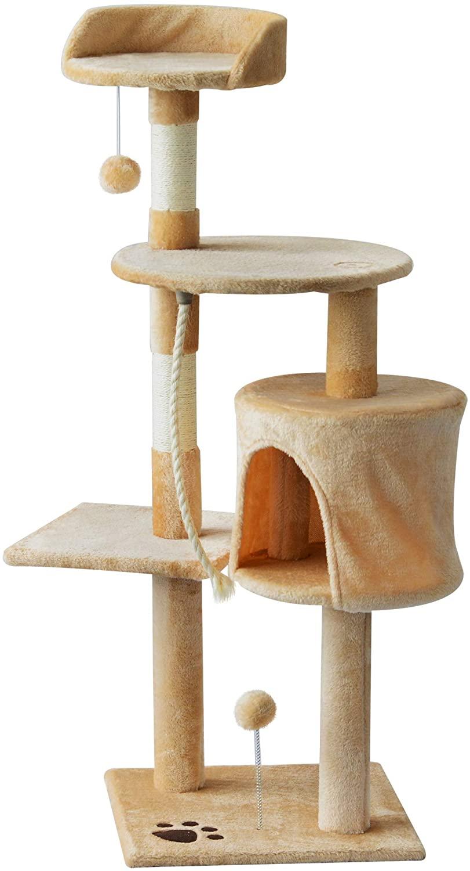 PawHut Árbol para gatos con rascador