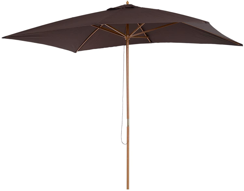 Outsunny Sombrilla parasol 2x3m