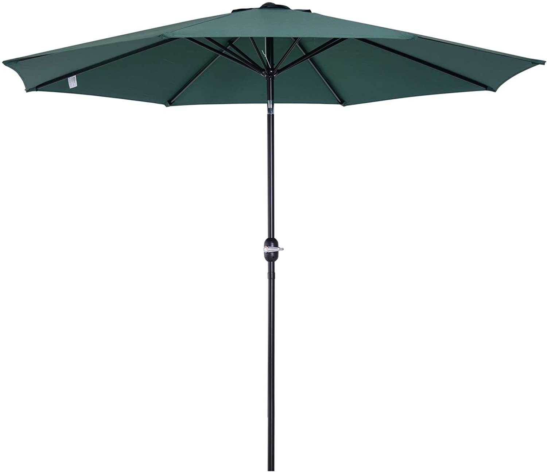 Parasol grande de jardín
