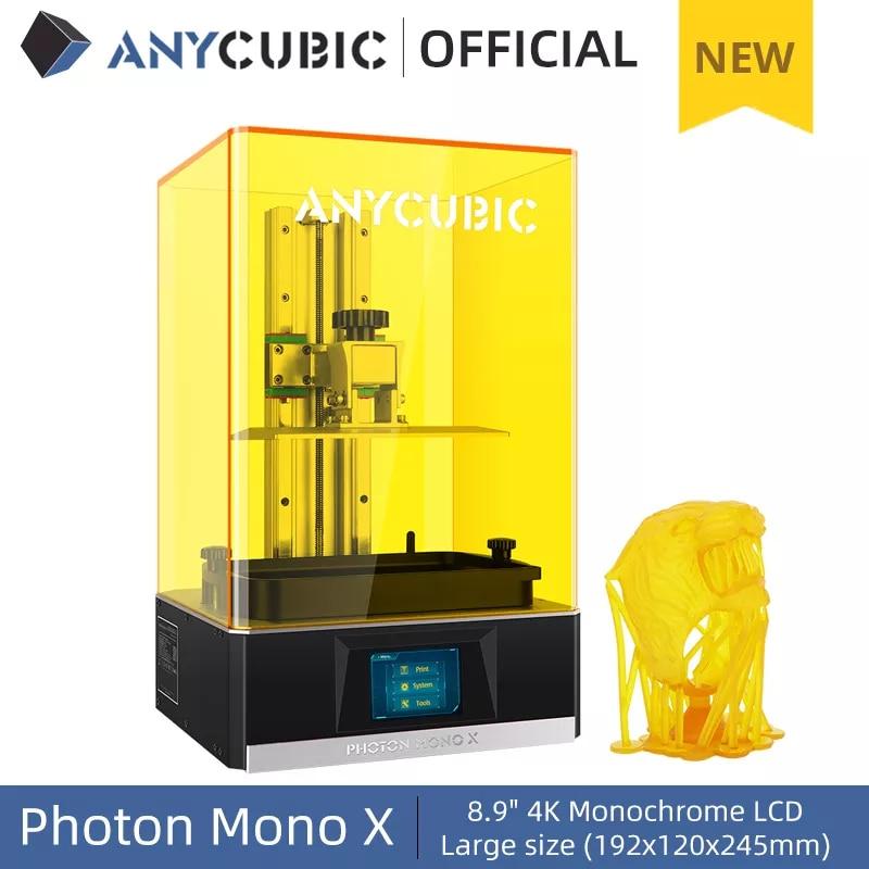 ANYCUBIC 3D Photon Mono X + Resina