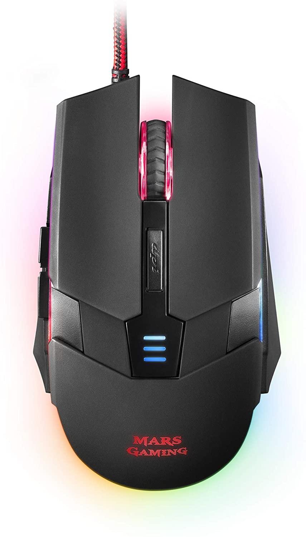 Ratón Mars Gaming RGB