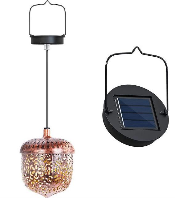 Farola solar para exterior impermeable