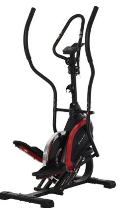 HOMCOM Bicicleta Elíptica de Fitness con Pantalla LCD
