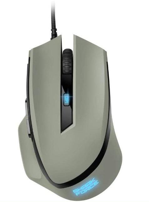 Ratón gaming 4200DPI Sharkoon Shark Force II