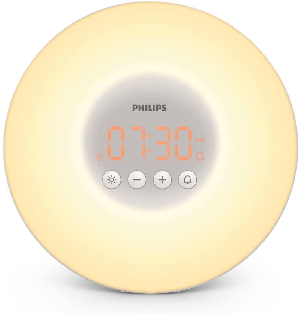 Despertador con luz LED Philips HF3500/01