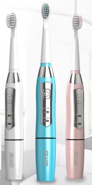 Seago Cepillo de dientes eléctrico para adulto