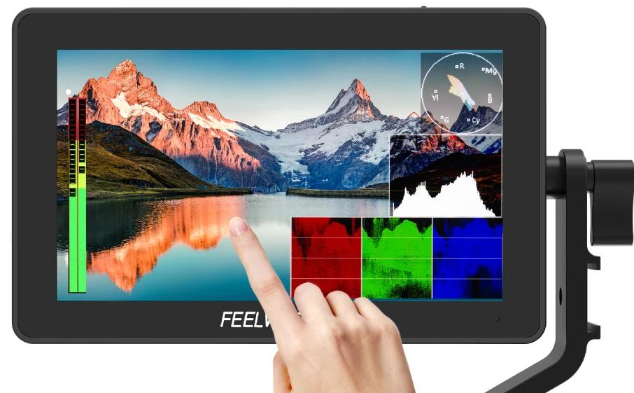 FEELWORLD monitor externo para cámaras