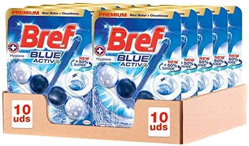 Bref Blue Active Higiene Colgador WC Pack de 10 unidades