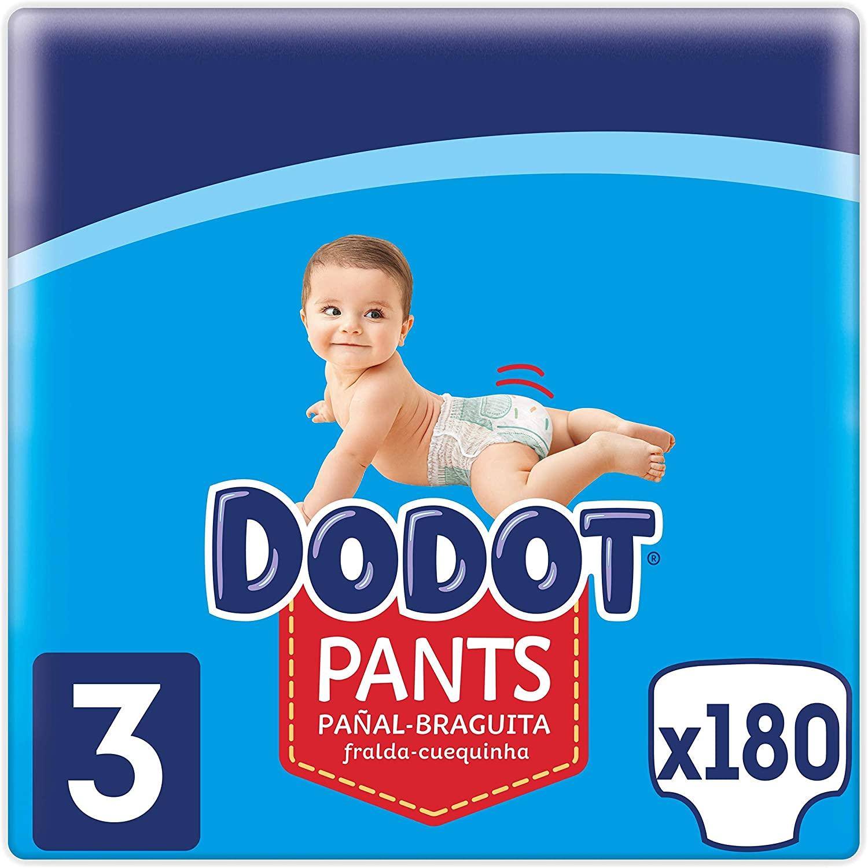 Cupón 20% de Dto. en Pañales Dodot Pants en Amazon