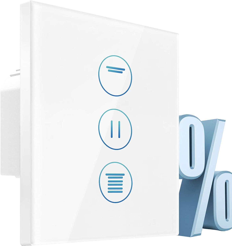 Interruptor persianas alexa LED controlable con temporizador