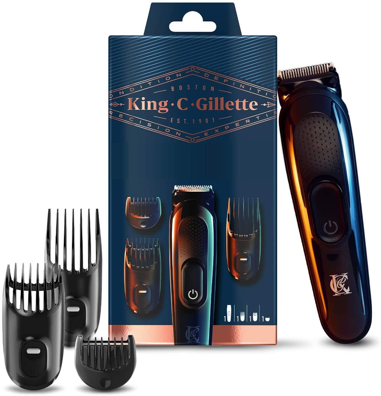 Recortadora de barba y cortapelos Inalámbrica Gillette