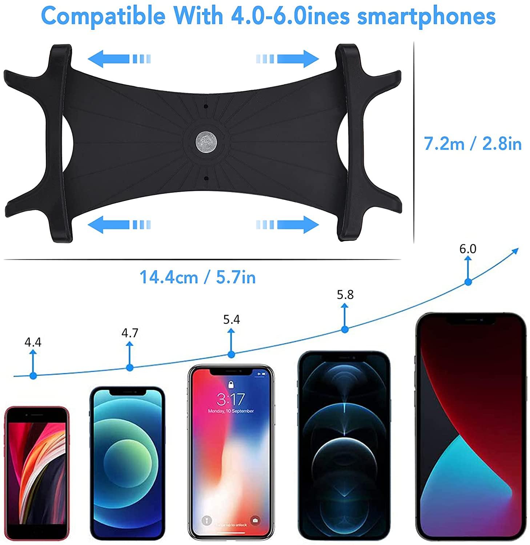 Tamaño móviles soportados