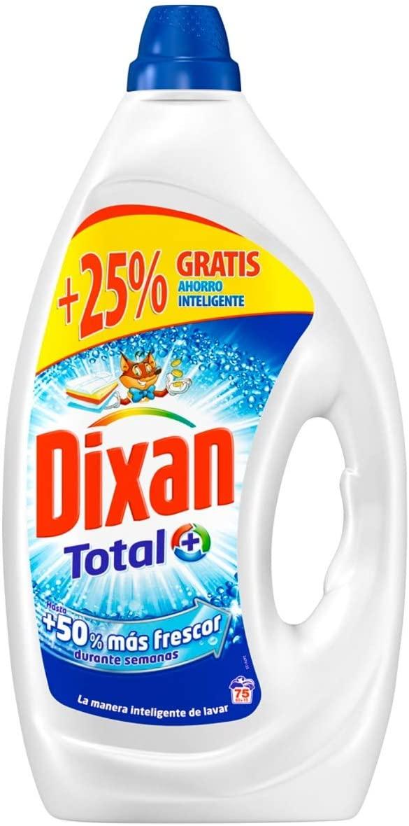 Detergente líquido Dixan 75 lavados