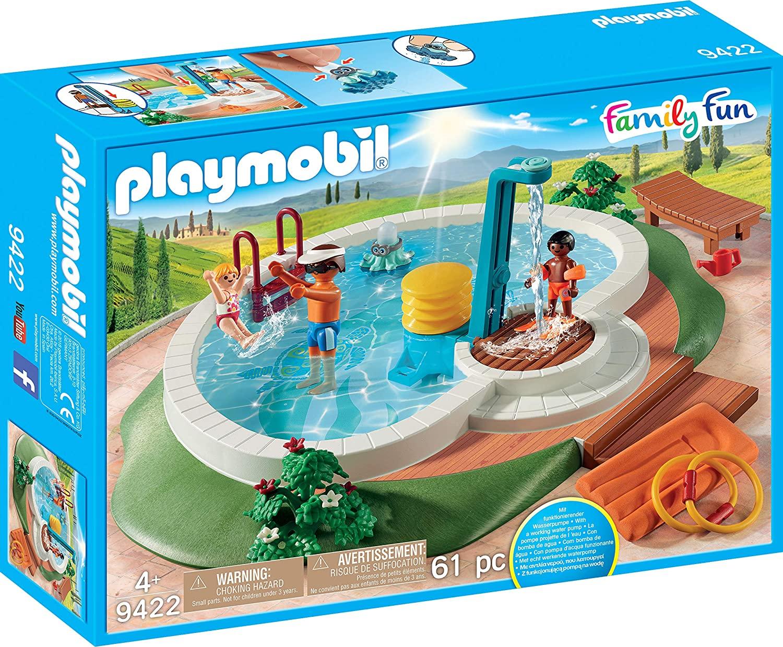 Playmobil piscina Family Fun