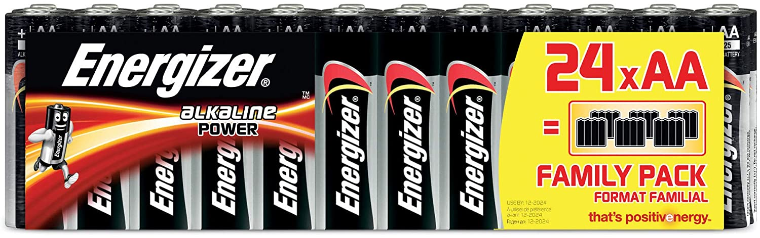 Pack 24 pilas Energizer Classic AA
