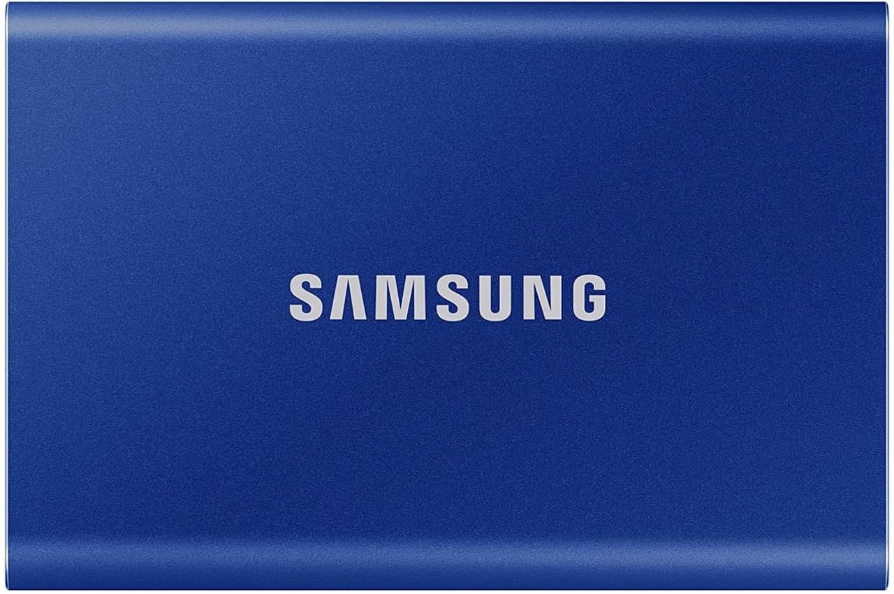 Disco SSD portátil Samsung T7 500GB
