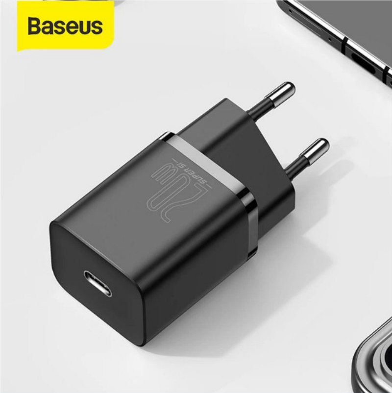 Cargador rápido USB-C 20W Baseus