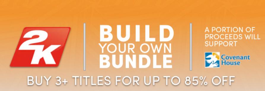 Humble Bundle hasta 85% de descuento en juegos 2K